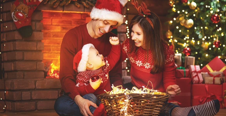 ¿Cómo organizar una sesión de fotos navideña?